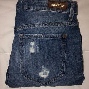MNG Distressed Boyfriend Jeans